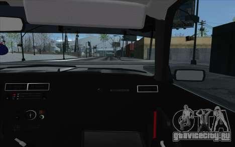 ВАЗ 2107 для GTA San Andreas колёса