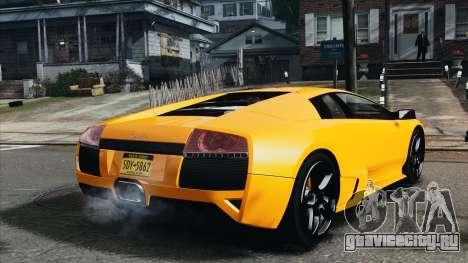 Lamborghini Murcielago LP640 2007 [EPM] для GTA 4 вид сзади слева
