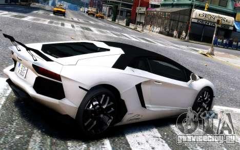 Lamborghini Aventador LP760-4 Oakley Design для GTA 4 вид справа