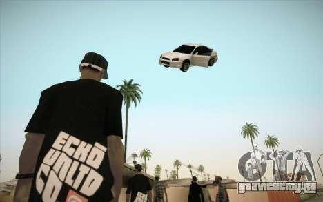 Заморозить машину в воздухе для GTA San Andreas третий скриншот
