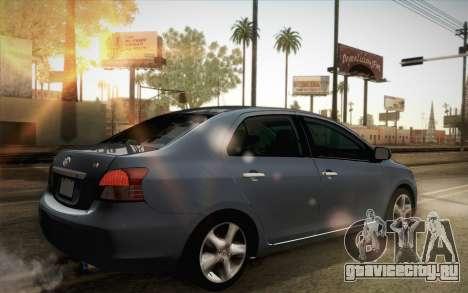 Toyota Vios 2008 для GTA San Andreas вид слева