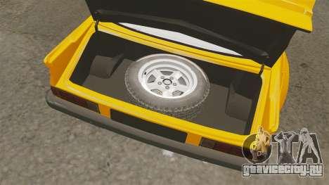 Opel Manta для GTA 4 вид изнутри
