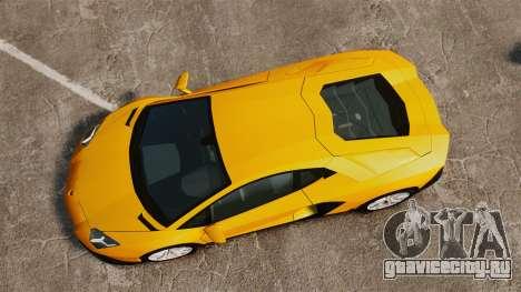 Lamborghini Aventador LP720-4 50th Anniversario для GTA 4 вид справа