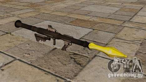 Американский противотанковый гранатомёт RPG-7 для GTA 4