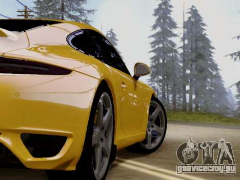 RUF RGT-8 для GTA San Andreas вид сзади