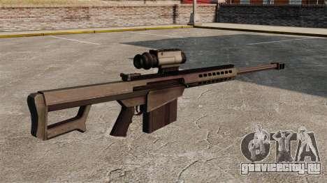 Снайперская винтовка  Barrett M107 для GTA 4 второй скриншот