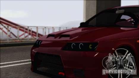 ВАЗ 2112 Купе-Спорт для GTA San Andreas вид сзади слева