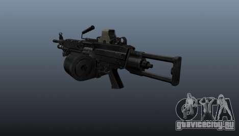 Ручной пулемёт M249 для GTA 4 второй скриншот