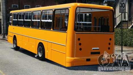 Ikarus 260 для GTA 4 вид слева