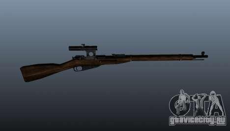 Винтовка Мосина для GTA 4 третий скриншот