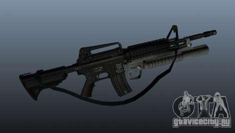 Автоматический карабин M4A1 v1 для GTA 4 третий скриншот