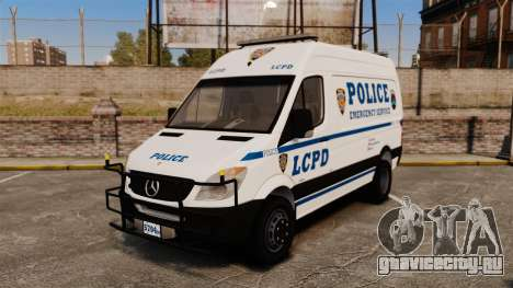 Mercedes-Benz Sprinter 3500 Emergency Response для GTA 4
