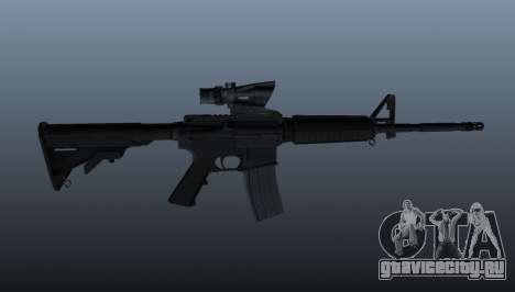 Автоматический карабин M4 для GTA 4 третий скриншот