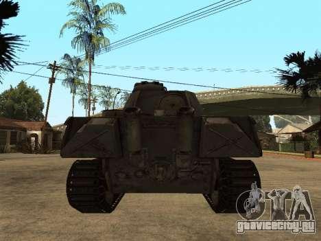 Pzkfpw V Panther для GTA San Andreas вид справа