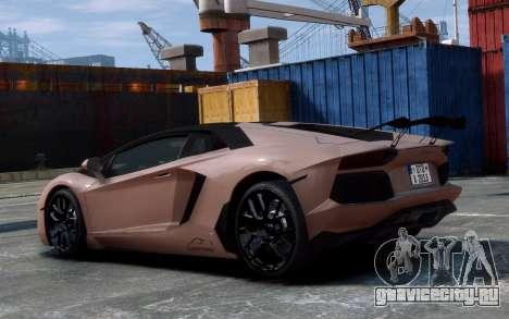 Lamborghini Aventador LP760-4 Oakley Design для GTA 4 вид сзади