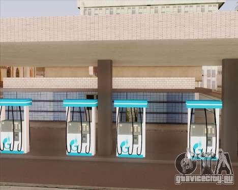 AЗС Газпром нефть для GTA San Andreas третий скриншот