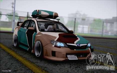 Subaru Impreza Arma для GTA San Andreas