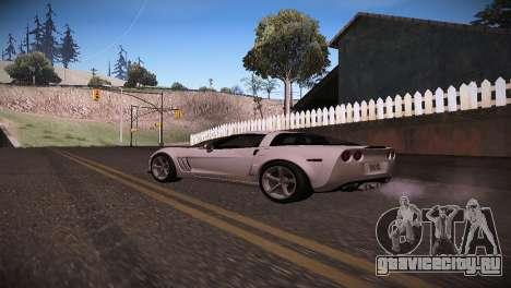 Chevrolet Corvette для GTA San Andreas вид слева