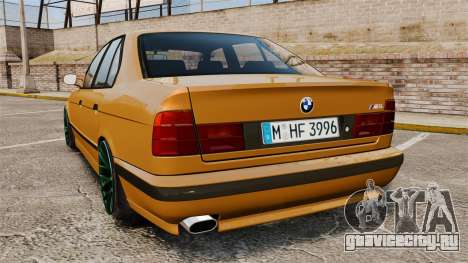 BMW M5 1995 для GTA 4 вид сзади слева