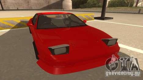 Nissan Onevia для GTA San Andreas вид слева