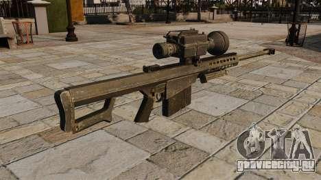 Снайперская винтовка Barrett M82 для GTA 4 второй скриншот