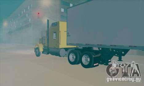 Kenworth W900L для GTA San Andreas вид слева