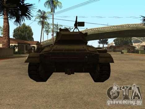 M24-Chaffee для GTA San Andreas вид справа