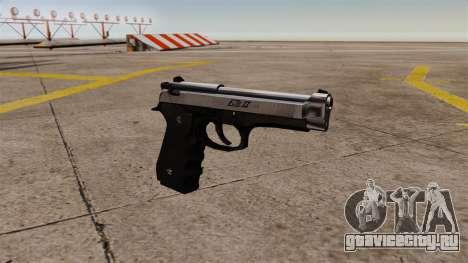 Самозарядный пистолет Beretta M92 для GTA 4