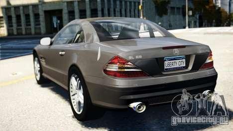 Mercedes-Benz SL65 2007 для GTA 4 вид слева