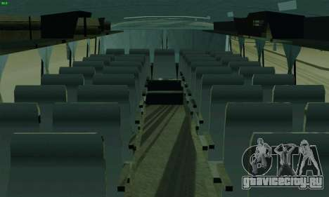 ЛАЗ 699Р для GTA San Andreas вид изнутри