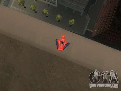 Присесть как человек-паук для GTA San Andreas второй скриншот