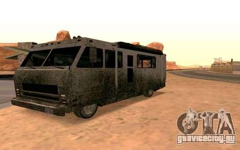 Journey из GTA 5 для GTA San Andreas вид слева