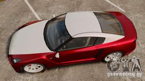 GTA V Elegy RH8 для GTA 4 вид справа