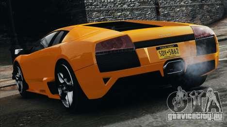 Lamborghini Murcielago LP640 2007 [EPM] для GTA 4 двигатель