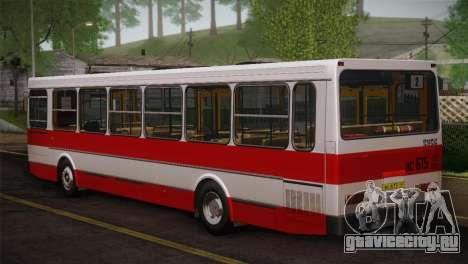 ЛиАЗ 5256.00 Скин-пак 3 для GTA San Andreas вид сзади