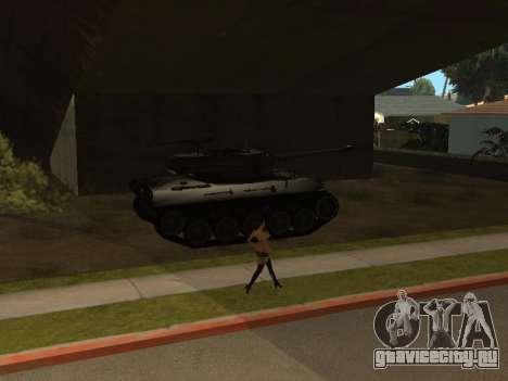 M18-Hellcat для GTA San Andreas вид сбоку