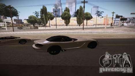 Dodge Viper SRT-10 Roadster для GTA San Andreas вид слева