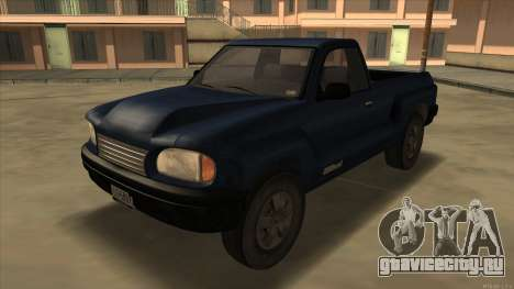 Bobcat HD from GTA 3 для GTA San Andreas