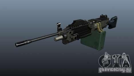 Ручной пулемёт M249 обновлённый для GTA 4