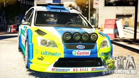 Ford Focus RS M Gronholm Rally Finland WRC для GTA 4