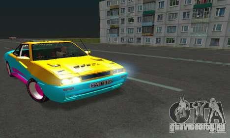 Opel Manta Mattig Extreme для GTA San Andreas вид сзади