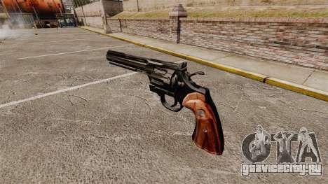 Револьвер Colt Python для GTA 4 второй скриншот