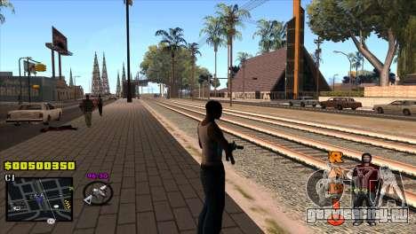 C-HUD Radio для GTA San Andreas