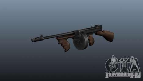Пистолет-пулемёт Thompson M1928 для GTA 4
