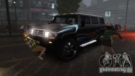 Новый зомби-скрипт для GTA 4 седьмой скриншот