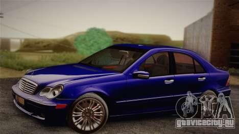 Mercedes-Benz C320 Elegance 2004 для GTA San Andreas вид справа