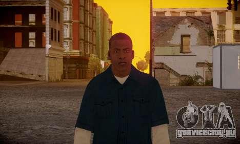 Franklin для GTA San Andreas шестой скриншот