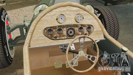 Auto Union Type C 1936 для GTA 4 вид сбоку