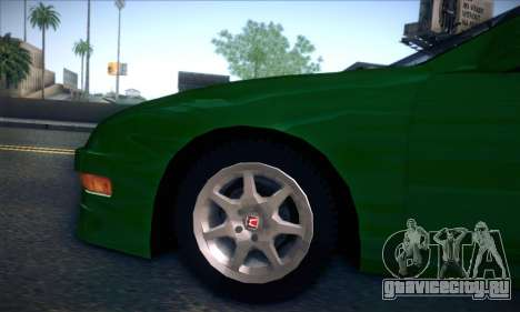 Honda Integra Normal Driving для GTA San Andreas вид сзади