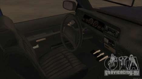 Bobcat HD from GTA 3 для GTA San Andreas вид изнутри